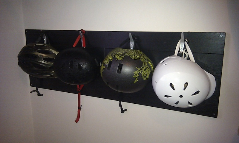 Exceptional Ride.io Forum   Helmet Storage Ideas?