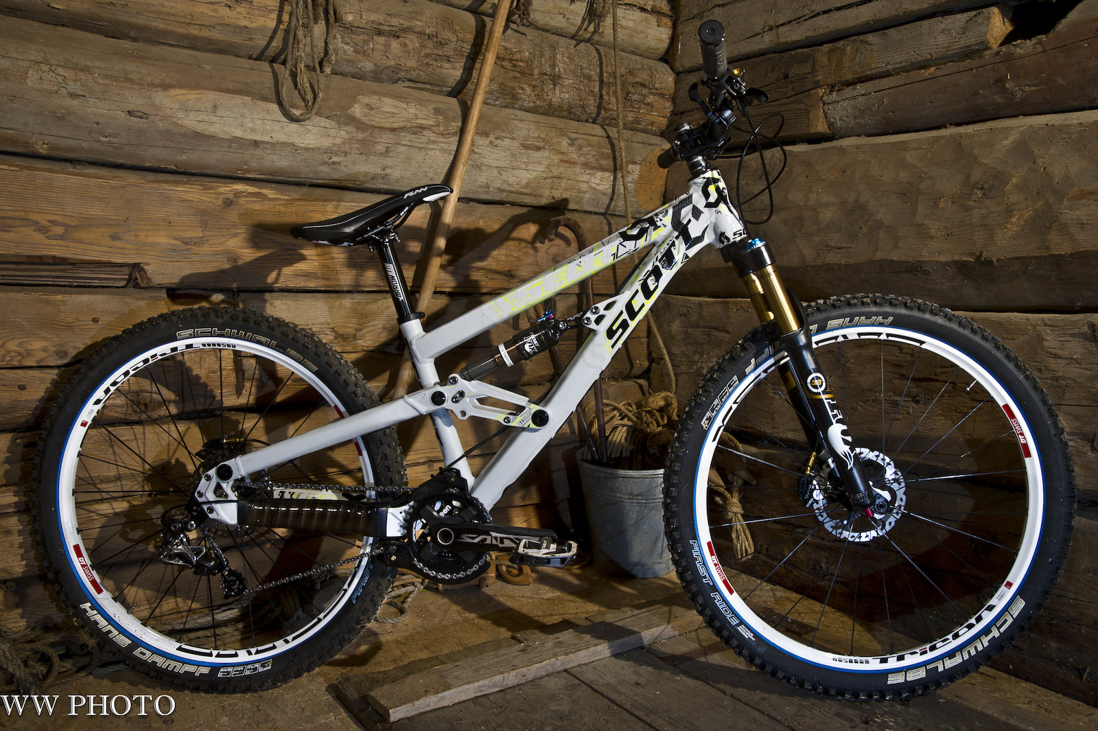 Andere Ansicht des SCOTT 4X Fully Prototype